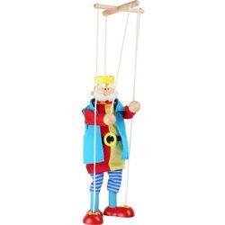 Marionetka Król do zabawy w teatr dla dzieci, small foot design z www.epinokio.pl