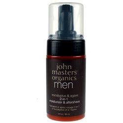 men krem nawilżający i po goleniu 2 w 1 dla mężczyzn 89ml wyprodukowany przez John masters