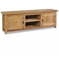 Szafka pod telewizor, lite drewno tekowe, 120 x 30 x 40 cm marki Vidaxl
