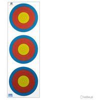 Nn Tarcza papierowa 3x20 cm 6 ringów
