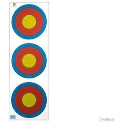 Kolba Tarcza papierowa 3x20 cm 6 ringów