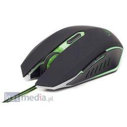 Gembird MUSG-001-G Czarno-zielony Darmowy odbiór w 15 miastach! z kategorii Myszy, trackballe i wskaźniki