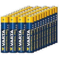Varta Baterie alkaliczne industrial aaa lr3 40szt - alkaliczna   lr03 (2501234507894)
