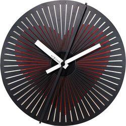 Zegar ścienny kinegram heart  30 cm - pulsujące serce marki Nextime