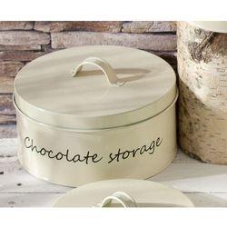 Dekoria metalowy pojemnik chocolate storage śr. 21 cm -30%, o21cm