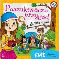 Emi i Tajny Klub Superdziewczyn Poszukiwacze przygód Książka i gra - Dostawa 0 zł, Agnieszka Mielech