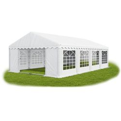Namiot 4x8x2, wzmocniony pawilon ogrodowy, summer plus/ 32m2 - 4m x 8m x 2m marki Das company