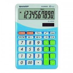 Kalkulator elm332bbl niebieski darmowy odbiór w 20 miastach! marki Sharp