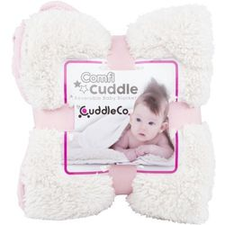 CuddleCo Kocyk Comfi Cuddle Różowy
