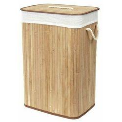 Compactor Kosz na brudne ubrania Bamboo prostokątny, naturalny