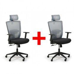 Fotel biurowy fantom 1 + 1 gratis, szary marki B2b partner