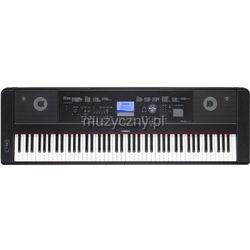 dgx 660 b keyboard z ważoną klawiaturą (88 klawiszy), czarny wyprodukowany przez Yamaha