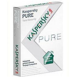 Kaspersky Pure 3 PC 12M z kategorii Programy antywirusowe, zabezpieczenia