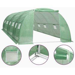 VidaXL Szklarnia ogrodowa, stalowa rama, 24 m², 6x4x2 m (8719883796222)