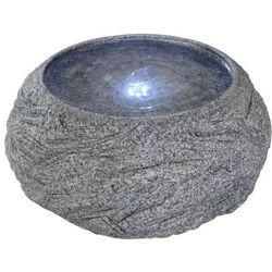 Velda kamienna fontanna ogrodowa z oświetleniem led, misa, 851208 (8711921257283)