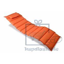 Wysokiej jakości poduszka na leżak pomarańczowa marki Divero