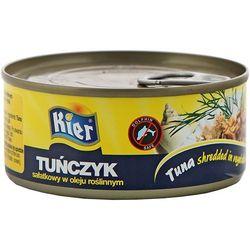 KIER 170g Tuńczyk sałatkowy w oleju roślinnym | DARMOWA DOSTAWA OD 200 ZŁ