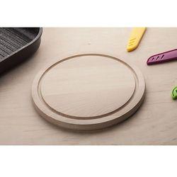 Aaa deska kuchenna drewniana okrągła 22 cm