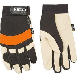 Neo Rękawice robocze skóra świńska licowa neopren rozmiar 10
