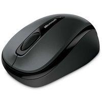 Microsoft Wireless Mobile Mouse 3500 GMF-00042, bezprzewodowa mysz do notebooków [czarna], GMF-00042