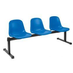 Krzesło beta-3 - do poczekalni i sal konferencyjnych, konferencyjne, na nogach, stacjonarne marki Nowy styl