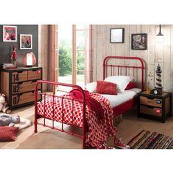 Metalowe łóżko New York dla dziecka (5420070217101)