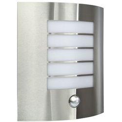 MASSIVE OSLO wall lantern inox 1x60W 230V 17014/47/10 (5412253800934)