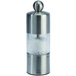 Młynek do soli z akrylu, przeźroczysty 210 mm | , commercy marki Peugeot