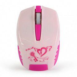 Mysz E-Blue Seico Minuscule, optyczna, bezprzewodowa, różowa EMS615REAA-IF Szybka dostawa! Darmowy odbiór w 20 miastach! - sprawdź w wybranym sklepie