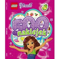 Lego Friends 500 naklejek: LBS101 (9788325316945)