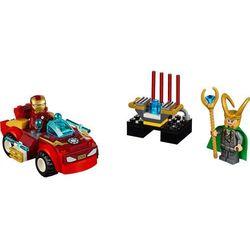 JUNIORS IRON MAN KONTRA LOKI (Iron Man vs Loki) - JUNIORS 10721 marki Lego [zabawka]