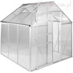 Szklarnia ogrodowa 3,6 m² - 190 x 190 x 195 cm - poliwęglan
