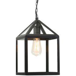 Zewnętrzna lampa Amsterdam wisząca czarna - sprawdź w wybranym sklepie