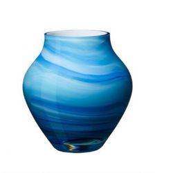 Villeroy & Boch - Oronda Wazon niebieski wysokość: 17 cm