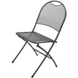 Rojaplast krzesło składane zwmc-44 metalowe