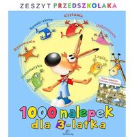 1000 nalepek dla 3-latka - Wysyłka od 3,99 (9788377913826)