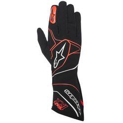 Rękawice kartingowe  tech 1-kx - czarno / czerwony \ xxl wyprodukowany przez Alpinestars