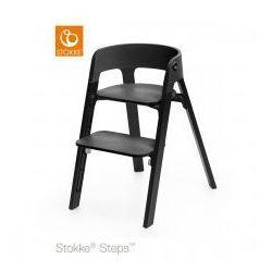Krzesełko STOKKE® STEPS™ black/ oak black
