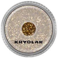 Kryolan POLYESTER GLIMMER MEDIUM (GOLD) Średniej grubości sypki brokat - GOLD (2901)
