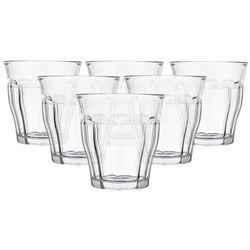 Duralex  picardie szklanki 250 ml 6 sztuk