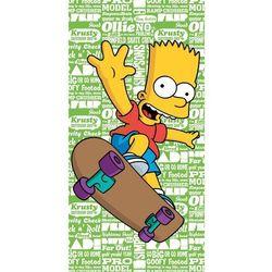 Jerry Fabrics Ręcznik kąpielowy Bart green, 70 x 140 cm