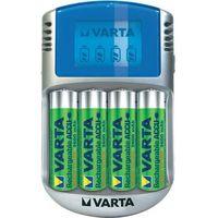 Varta Ładowarka do akumulatorów aaa, aa  lcd-lader, nimh, z zestawem akumulatorów