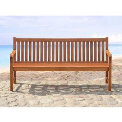 Drewniana ławka ogrodowa 180 cm TOSCANA (7081457512172)