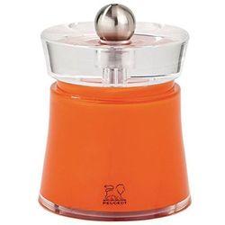 Akrylowy młynek do soli   pomarańczowy   75mm marki Peugeot