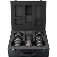 Nikon  potrójny zestaw obiektywów limitowana edycja na 100-lecie firmy nikon