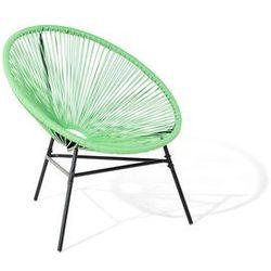 Krzesło rattanowe zielone ACAPULCO (4260586354126)