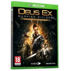 Deus Ex Mankind Divided - gra Xbox One