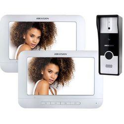 Wideodomofon Hikvision DS-KIS202 z dwoma monitorami, DS-KIS202_2M
