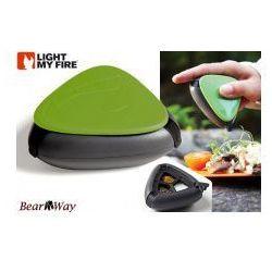 Salt and pepper plus () - turystyczny pojemnik na przyprawy (zielony), marki Light my fire