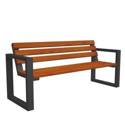 Producent: elior Drewniana ławka parkowa norin gray 150cm - 8 kolorów